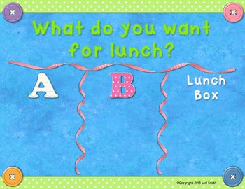Ribbon Lunch Choice Freebie