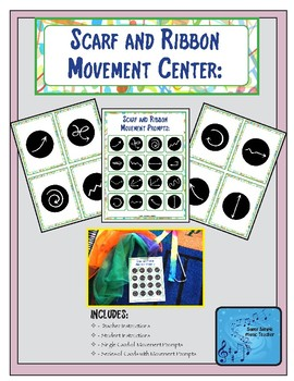 Ribbon and Scarf Movement Cards and Center