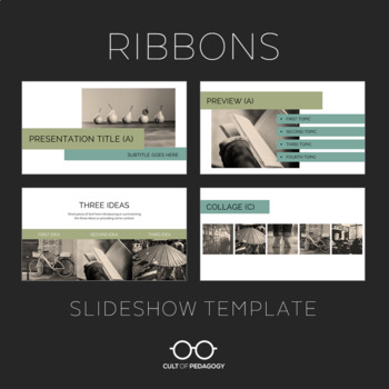 Ribbons: Slideshow Template for PowerPoint and Google Slides