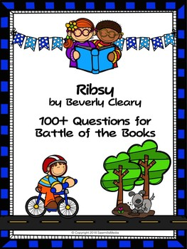 Ribsy - 100 Elementary Battle of the Books Questions