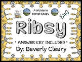 Ribsy (Beverly Cleary) Novel Study / Reading Comprehension  (30 pages)
