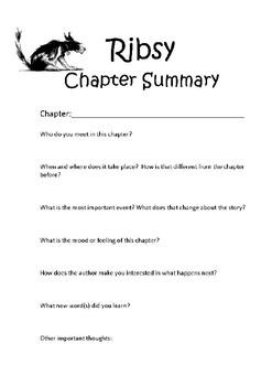 Ribsy Chapter Summary