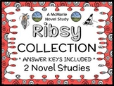 Ribsy COLLECTION (Beverly Cleary) 2 Novel Studies / Comprehension  (53 pages)