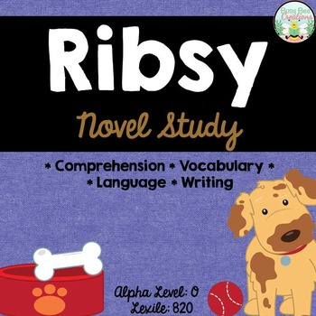 Ribsy Novel Unit