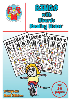 Ricardo's BINGO Game - great for pre-reading same/different observation skills