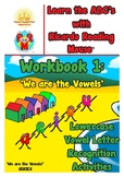 Ricardo's Vowels: Workbook 1 - Lowercase vowel letter reco