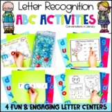 Letter Recognition Cookie Sheet and Rice Box ABC Center Pack