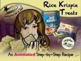 Rice Krispie Treats - Animated Step-by-Step Recipe - Regular