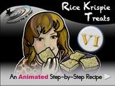 Rice Krispie Treats - Animated Step-by-Step Recipe - VI