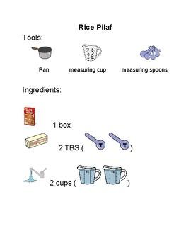 Rice Pilaf-Visual Recipe