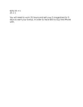 Rich Assessment for Patterning - Grades 6-8