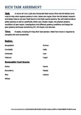 Rich Task - Maths/Geography/Science