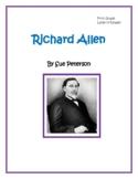Richard Allen:  Builder and Legislator