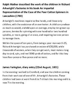 Richard Arkwright Handout