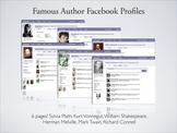 Famous Author Facebook Profiles