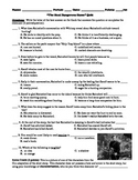 """Richard Connell's """"The Most Dangerous Game"""" Multiple Choice Quiz"""