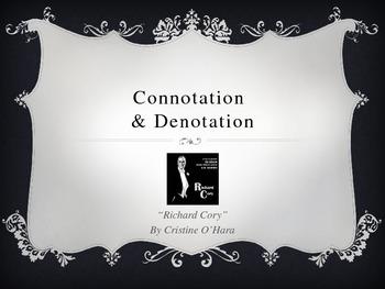 Richard Cory- poem analysis