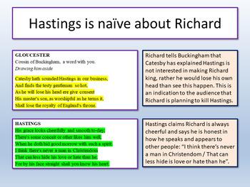 Richard III - Shakespeare Lesson 5