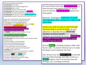 Richard III - Shakespeare Lesson 6
