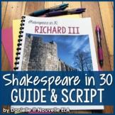 Richard III - Shakespeare in 30