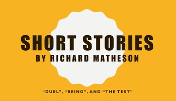 Richard Matheson Short Stories Worksheets
