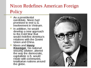 Richard Nixon and Cold War Power Point