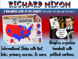 Richard Nixon: cartoons, watergate, foreign/domestic legacy PPT & handout