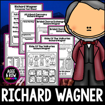 Richard Wagner, Germany, Classical Listening Sheets, Opera, Stage, May,