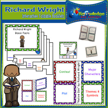 Richard Wright Interactive Foldable Booklets - Black History Month