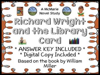 Richard Wright and the Library Card (William Miller) Book Study / Comprehension