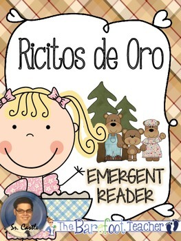 Goldilocks Emergent Reader in Spanish - Ricitos de Oro