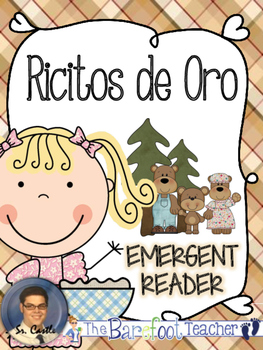 Ricitos de Oro - Goldilocks Emergent Reader