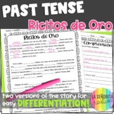 Preterite vs Imperfect Story Worksheet | Ricitos de Oro | Distance Learning