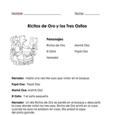 Spanish Reader's Theater-Ricitos de Oro y los Tres Osos (T