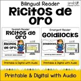 Ricitos de oro ~ Goldilocks & the Three Bears Readers {Bilingual Version}