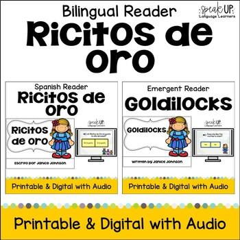 Ricitos de oro ~ Goldilocks & the Three Bears Readers {Bilingual Bundle}