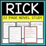 Alex Gino-Rick Novel Study