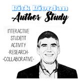 Rick Riordan Author Study, Percy Jackson Activity, Riordan Author Bio