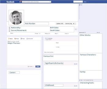 Rick Riordan - Author Study - Profile and Social Media