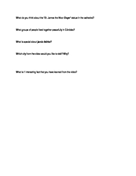 Rick Steve's Europe video questions-Granada, Cordoba, Costa del Sol