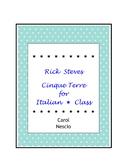 Rick Steves ~ Cinque Terre For Italian * Class ~ Italian D