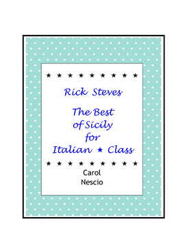 Rick Steves ~ The Best of Sicily For Italian * Class