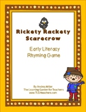 Rickety, Rackety Scarecrow ~ Rhyming Game