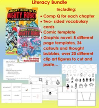 Ricky Ricotta 2 Title Literacy Bundle
