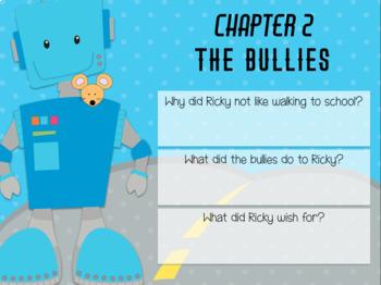 Ricky Ricotta's Mighty Robot (1) - Novel Study (Great for Google Classroom!)