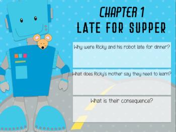 Ricky Ricotta's Mighty Robot (3) - Novel Study (Great for Google Classroom!)