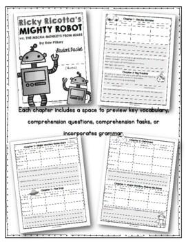 Ricky Ricotta's Mighty Robot vs. the Mecha-Monkeys from Mars Student Packet