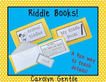 Riddle Book - details