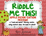 Riddle Me This! Apple Pickin' Edition FREEBIE