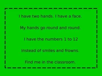 Riddle Poems- Infer the meaning